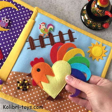 Diy Baby Busy Book