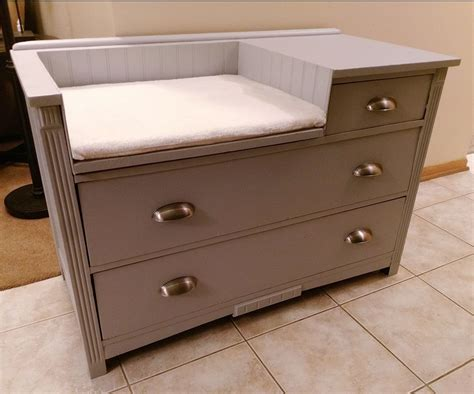 Diy Baby Changing Table Dresser Projects