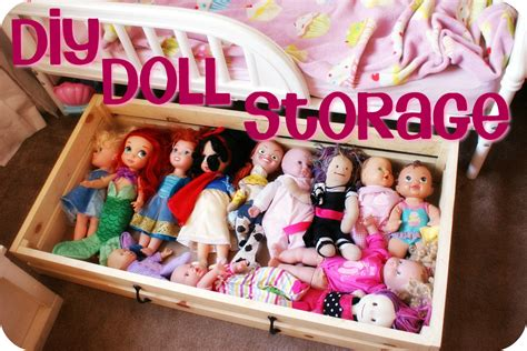 Diy Baby Doll Storage