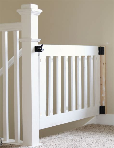 Diy Baby Gate For Top Of Stairs