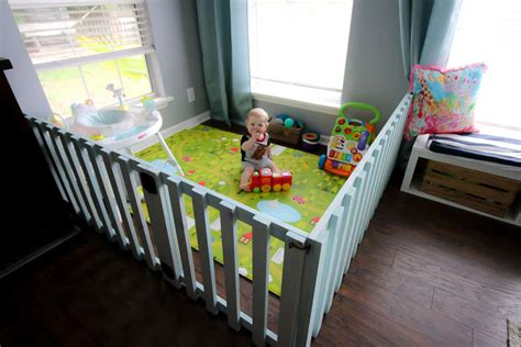 Diy Baby Playpen Wood