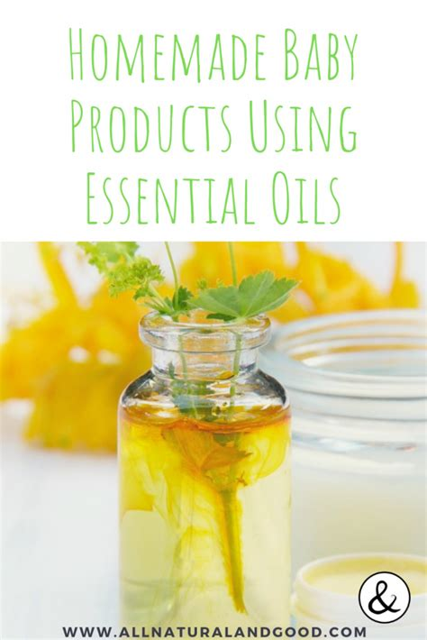 Diy Baby Products Essential Oils
