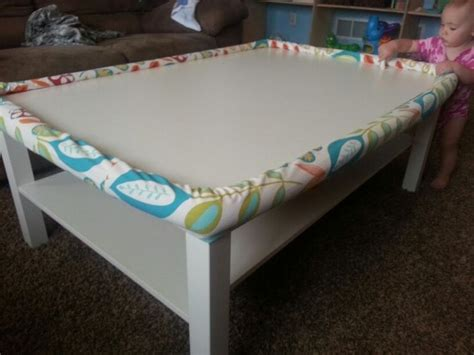 Diy Baby Proof Table Corners