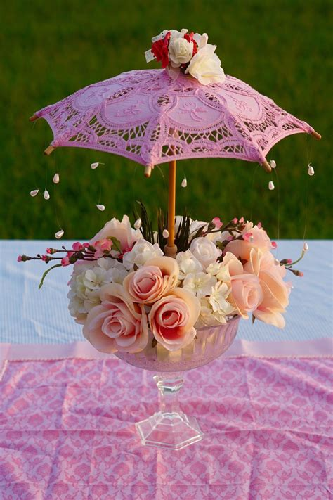 Diy Baby Shower Table Centerpieces For Girls
