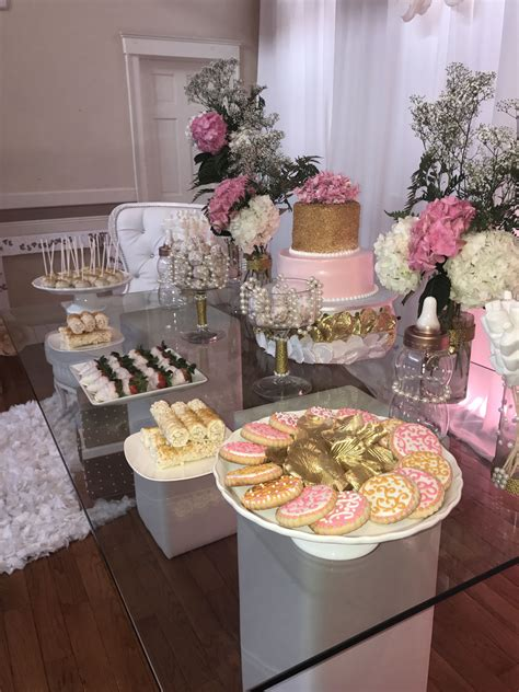 Diy Baby Shower Table Setting Ideas