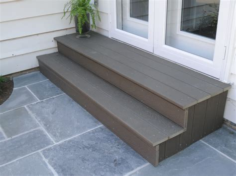 Diy Back Patio Steps