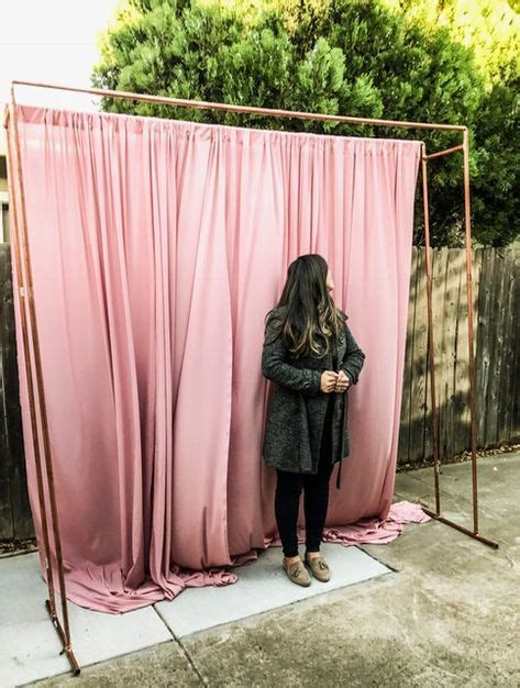 Diy Backdrop Stand Measurements