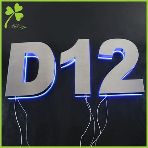 Diy Backlit House Numbers