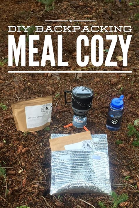 Diy Backpacking Meal Cozy