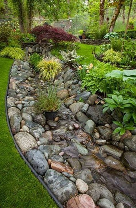 Diy Backyard Creek Bed Country
