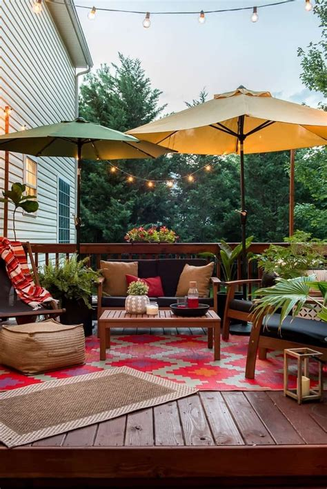 Diy Backyard Deck Decorating