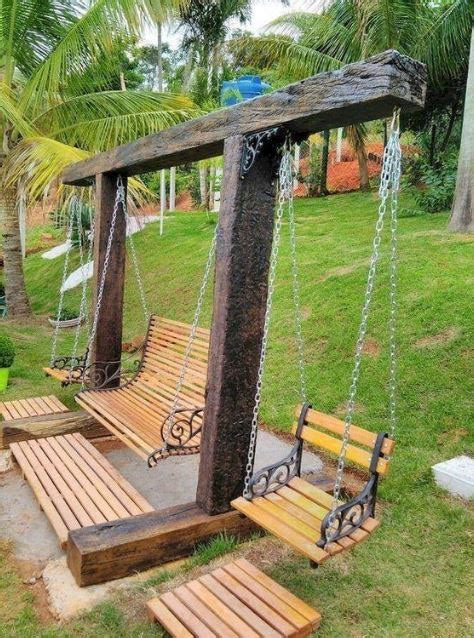 Diy Backyard Swing Couch
