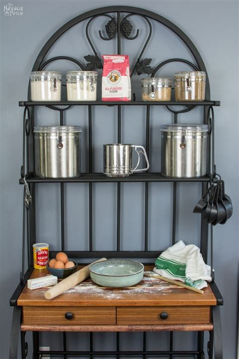 Diy Bakers Rack Makeover Consultant