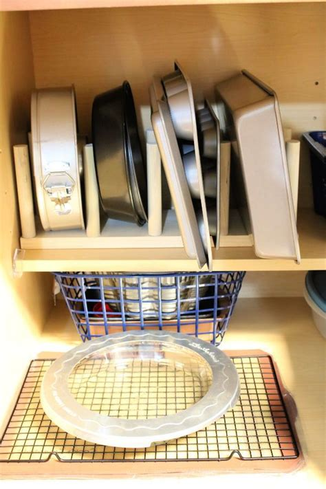 Diy Baking Pan Organizer