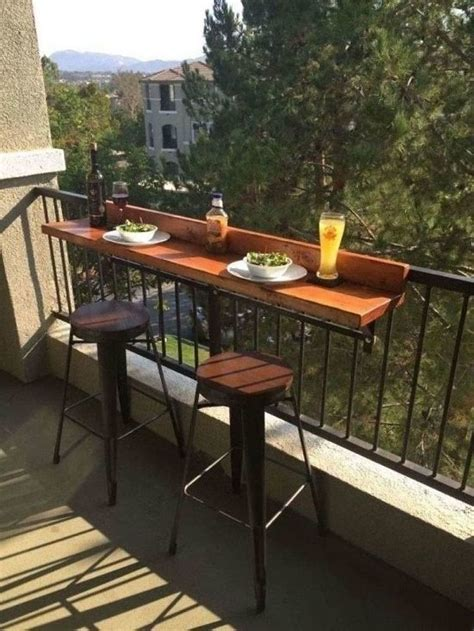 Diy Balcony Bar Table