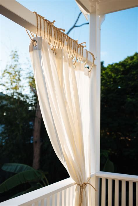 Diy Balcony Curtains