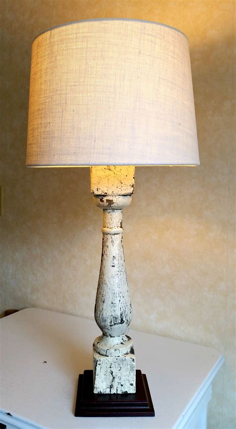 Diy Baluster Lamp