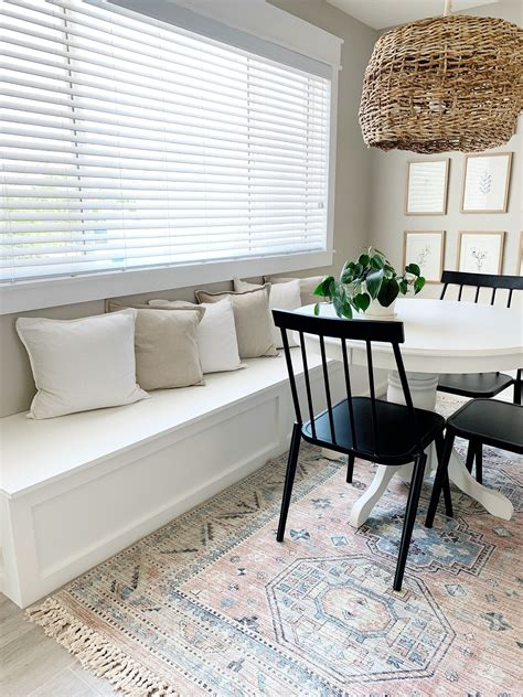 Diy Banquette Bench For Dining Room