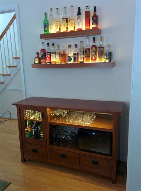 Diy Bar Cabinet On Wheels