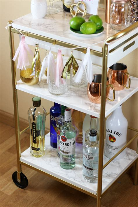 Diy Bar Cart Cheap