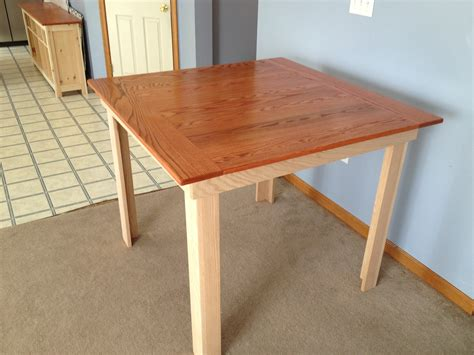 Diy Bar Height Kitchen Table