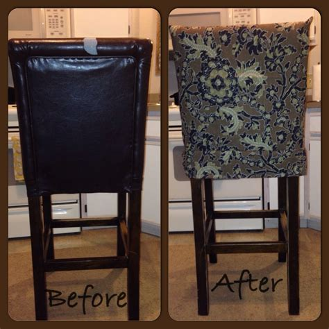 Diy Bar Stool Slipcover