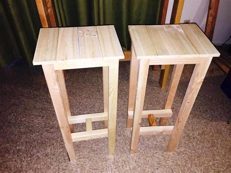 Diy Bar Stool Table Set