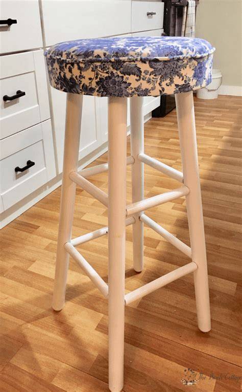 Diy Bar Stool Upholstery