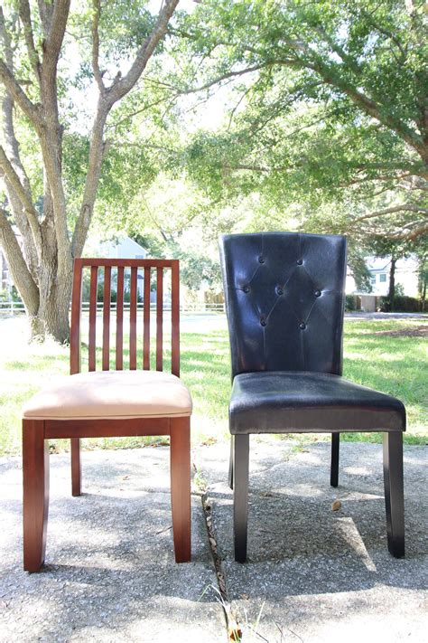Diy Bar Stools Into Dining Chairs