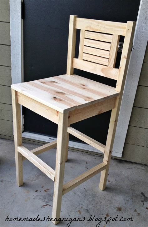 Diy Bar Stools With Back