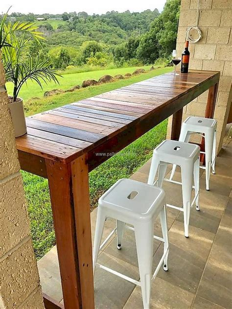 Diy Bar Table For Patio