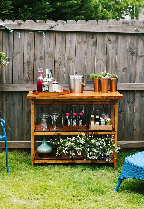 Diy Bar Table Ideas
