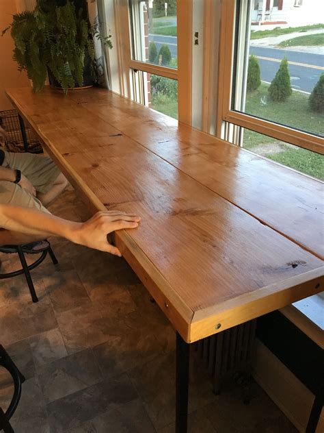 Diy Bar Table Pinterest