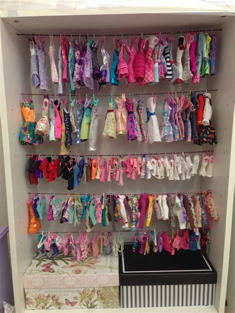 Diy Barbie Accessories Storage