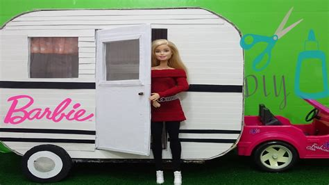 Diy Barbie Doll Camper