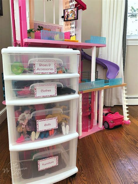 Diy Barbie Doll Organizers