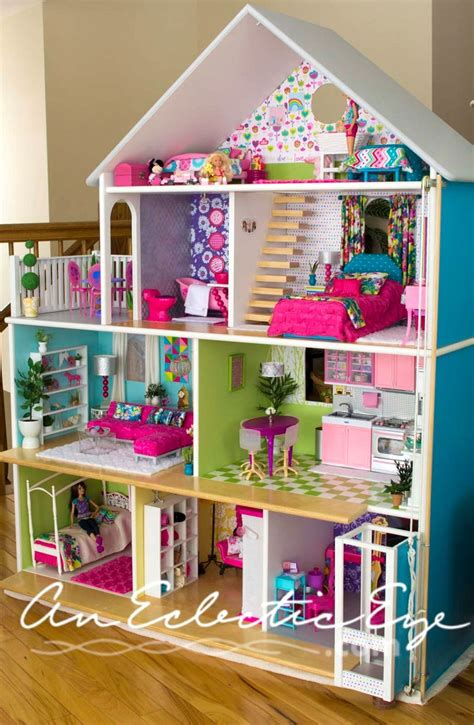Diy Barbie Dollhouse Cardboard