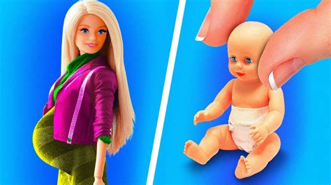 Diy Barbie Furniture 5 Minute Youtube