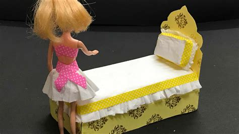 Diy Barbie Furniture Youtube