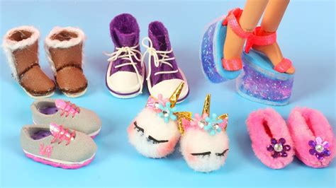Diy Barbie Shoes
