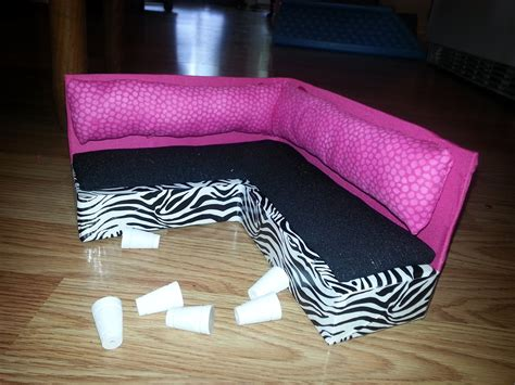 Diy Barbie Sofa