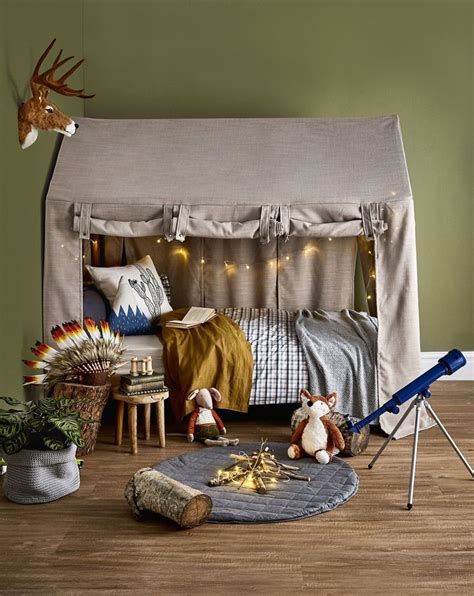 Diy Barn Childs Bed Tent
