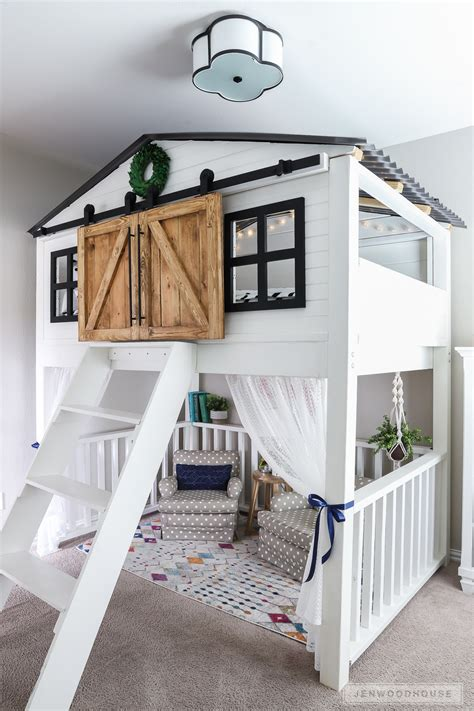 Diy Barn Door Toddler Bed