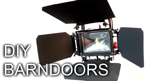 Diy Barn Doors For Led Video Light