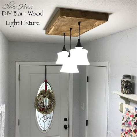 Diy Barn Light Fixture