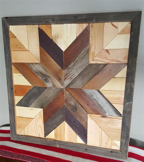 Diy Barn Quilt With Recycled Wood