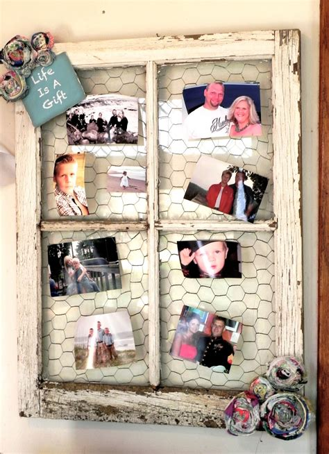Diy Barn Window Picture Frame