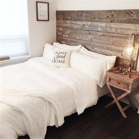 Diy Barn Wood Bed