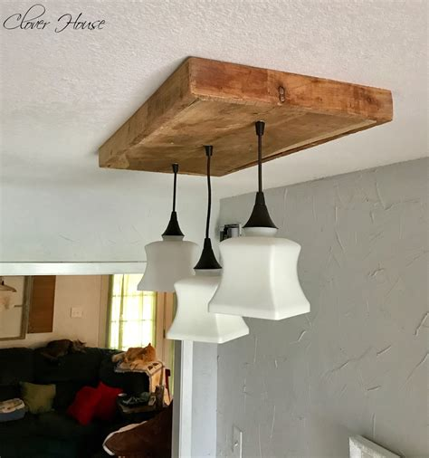 Diy Barn Wood Light Fixtures