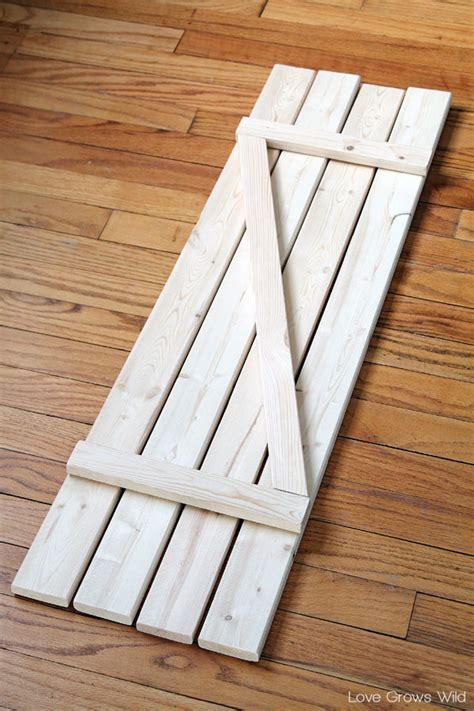 Diy Barn Wood Shutters